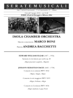 IMOLA CHAMBER ORCHESTRA Pianista