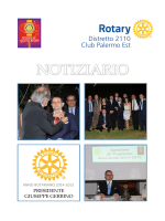 Notiziario - Rotary Club Palermo Est