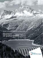 Bilancio di sostenibilità 2013