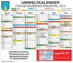 erhalten Sie den aktuellen Abfuhrkalender für 2014