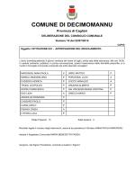 COMUNE DI DECIMOMANNU