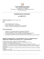mansionario organigramma - Istituto Comprensivo di Moglia (MN)