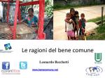 Relazione dott.Leonardo Becchetti