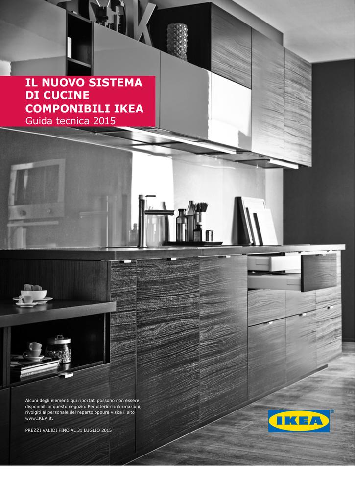 IL NUOVO SISTEMA DI CUCINE COMPONIBILI IKEA