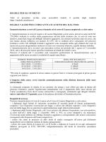 Regole per gli studenti - Università del Salento