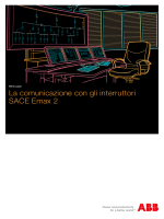 La comunicazione con gli interruttori SACE Emax 2