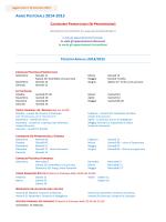 ) PERCORSI ANNUALI 2014/2015