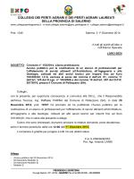 Circolare n. 153 del 1^ Dicembre 2014