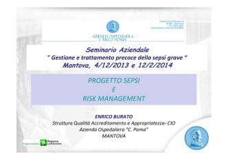 2_sespi e rm 2013 ENRICO BURATO - Azienda Ospedaliera Carlo