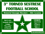 3° torneo sestrese football school memorial