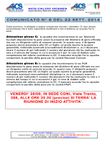 Com 6 - AICS Vicenza