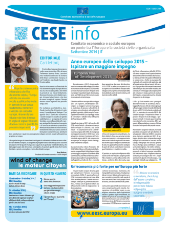 CESE - EESC European Economic and Social Committee