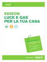 EDISON LUCE E GAS PER LA TUA CASA