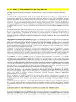La gestione delle resistenze - Agricoltura e pesca