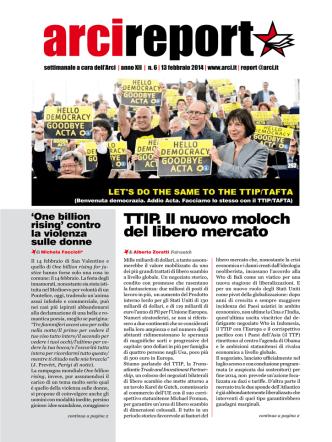 Arcireport numero 6_13 febbraio 2014