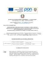 Bando Alunni - IIS Costanzo