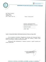 Regolamento Campionato Italiano Individuale Seniores