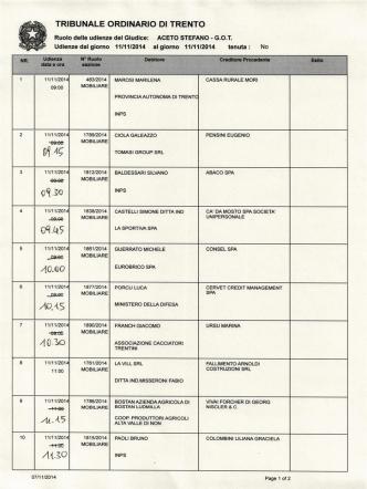 40`Q0 ヽ_45 - Ordine degli Avvocati di Trento