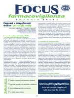 pdf del numero - Farmacovigilanza