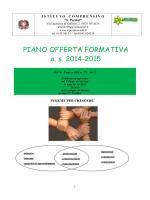 POF 2014-15 - Istituto comprensivo S. Pertini