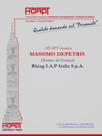 A colloquio con Massimo Depetris, Direttore del Personale