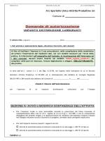 E1.01 - Autorizzazione Impianto di carburante
