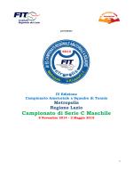 Programma Serie C Maschile