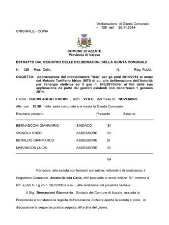 128gc2014 - Comune di Azzate