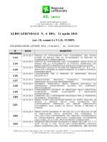 ALBO N. 6 del 11.04.2014