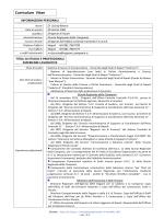 Curriculum Vitae - Regione Campania