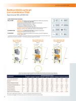 Bollitori INOX verticali con scambiatori fissi