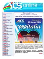 AICS ON LINE N° 346 del 20/03/2014