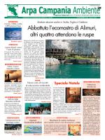 Magazine Arpa Campania Ambiente n. 23 del 15 dicembre 2014