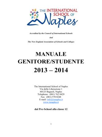 Clicca Qui - International School of Naples