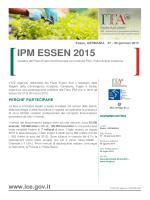 Circolare IPM Essen