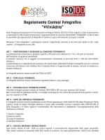 """Regolamento Contest Fotografico """"#ViviAdria"""""""