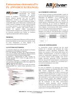Fatturazione elettronica PA IX (INVOICE XCHANGE)