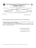 Pubblicazione graduatorie di Istituto Docenti II e III fascia