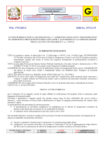 Bando assistenza specialistica - Istituto Istruzione Superiore