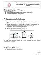 MO_AS_739 Preparazione per rettosigmoidocolonscopia