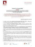 Cartella stampa - Ministero per i Beni e le Attività Culturali