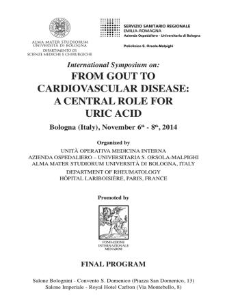 A CENTRAL ROLE FOR URIC ACID Bologna (Italy)