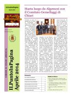 ILPuntoIn Pagina Aprile 2014 - Benvenuti nella Città di Chiari