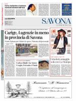 Carige, 4 agenzie in meno inprovincia di Savona