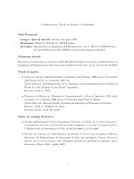 Curriculum Vitae di Paola Cappanera Dati Personali