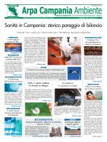 Magazine Arpa Campania Ambiente n. 9 del 15 maggio 2014