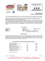 SCHEDA TECNICA TRASPARENTE - Industria Chimica General