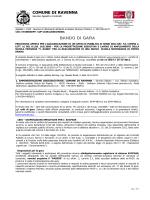 bando - Comune di Ravenna