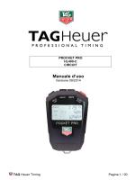 HL400-C - Electronic Cronometro Pocket-Pro Circuit