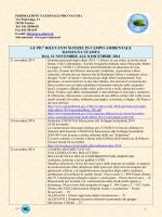 21 nov 8 dic - Federazione Nazionale Pro Natura